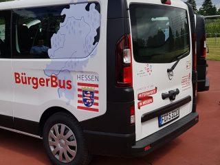 Unser Bürgerbus fährt bei Bedarf!